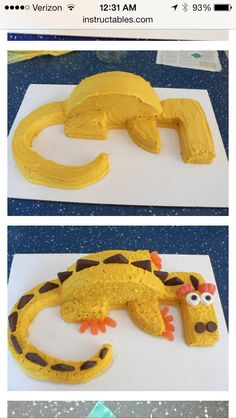 Dragon cake for hobbit party!!!