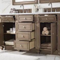 James Martin Furniture 157-V60D-WW Bristol 60