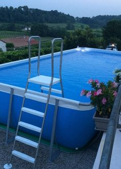 Above Ground Pools are the most effective alternative for resident who want a swimming pool however aren't ready for the much more costly choice of putting in an in-ground pool. Above Ground Pool, In Ground Pools, Pool Fun, Backyard, Patio, Cool Pools, Pool Ideas, House Projects, Outdoor Activities