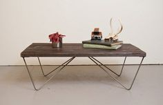 How to build a Mid-Century modern inspired coffee table with hairpin legs — Mid Century Modern hq