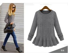 HOT Sell Brand Autumn and Winter Long Knitted Pullover Sweaters For Women Fashion Casual Women's Sweater Dresses Coat Maternity $44.79
