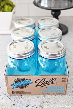Ball Vintage Style jars | In the meantime, I'll share something fun with you today that I just ...