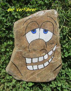 Gartensteine von Vroni´s Geschenkewelt auf DaWanda.com