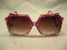 Vintage funky hexagon style  sunglasses
