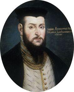 Sigismund II Augustus by Marcin Ostrowski.....Zygmunt II August urodził się 1 sierpnia 1520 r. w Krakowie jako pierwszy i, jak się później okazało, jedyny żyjący i urodzony w legalnym małżeńskim związku syn króla Zygmunta I Starego i jego drugiej żony Bony Sforzy, księżnej Mediolanu i Bari. Od 1529 r. rezydował w Wilnie jako wielki książę Litwy. 20 lutego 1530 r. arcybiskup gnieźnieński i prymas Polski Jan Łaski koronował go vivente rege w katedrze wawelskiej na króla Polski.