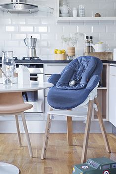 The all-new Stokke Steps is MORE than a high chair.... it's a bouncer and highchair modular system, made for each other! Scandinavian innovation at its best, from Stokke