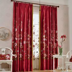 Oriental Red Beautiful Custom Waverly Curtains Waverly Curtains, Grommet Curtains, White Sheer Curtains, Colorful Curtains, Home Wedding, Custom Pillows, Crafts To Make, Oriental, Shell