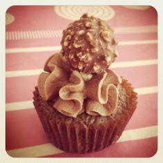 Cupcake de ferrero y Nutella!!! #Felicità