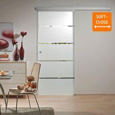 Eine Glasschiebetür trennt Räume voneinander, sorgt für Privatsphäre und ist platzsparend. Gleichzeitig verleiht die hohe Lichtdurchlässigkeit der Tür Ihren Räumen mehr Größe und Transparenz. Schick und formschön ist sie eine...