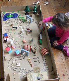 Road and rail map making