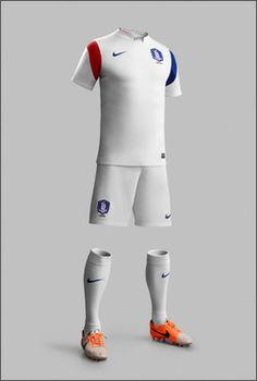 Korea 2014 World Cup Away Shirt