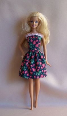 Handmade Barbie Clothes Navy with by PersnicketyGrandma on Etsy, $4.00