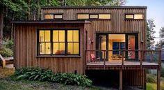 Resultado de imagen para fachadas casas montañas