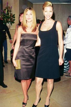 With Lisa Kudrow at the Friends Charity Gala in 1997. See all of Jennifer Aniston's best looks.