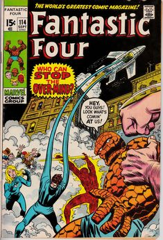Fantastic Four #114  September 1971  Marvel Comics  Grade Fine