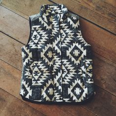 Southwest Vest. To order, call us at 479-434-2318! Xoxo, Suite One