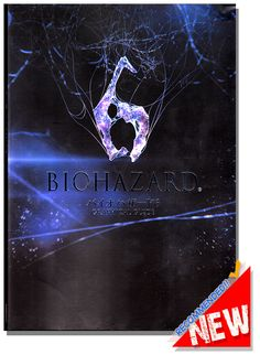 Biohazard 6 (Resident Evil 6) Graphical Guide Book