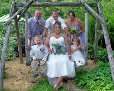 Rustic Weddings Outdoor or The Barn @ Justin Trails Resort near Sparta WI www.justintrails.com