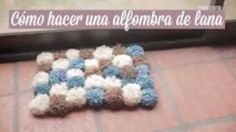 donneinpink diy magazine: [Video] Come fare un tappeto di pom pom
