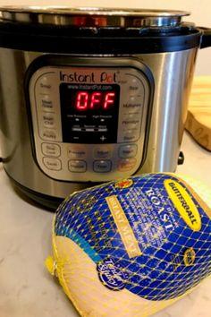 Frozen Turkey Breast Recipe, Instant Pot Turkey Breast Recipe, Best Instant Pot Recipe, Instant Recipes, Instant Pot Dinner Recipes, Instant Pot Meals, Cooking A Frozen Turkey, Pressure Cooking Recipes, What's Cooking