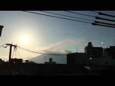 鹿児島市の空|5月23日 噴煙と雲と桜島をShot by iPhone and FiLMiCPro V6