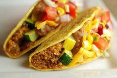 Quinoa and Summer Veggie Tacos