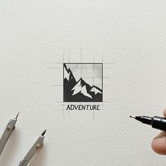 Logo inspiration: Adventure by @deep.bear Hire quality logo and branding designers at Twine. Twine can help you get a logo, logo design, logo designer, graphic design, graphic designer, emblem, startup logo, business logo, company logo, branding, branding designer, branding identity, design inspiration, brandinginspiration and more.