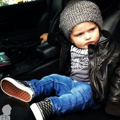 I love this baby look! Baby boy clothes are always cheesy. (: I love this baby look! Baby boy clothes are always cheesy. Little Boy Fashion, Toddler Fashion, Fashion Kids, Fashion Clothes, Fall Fashion, Fashion Accessories, Fashion Women, Swag Fashion, Fashion 2015