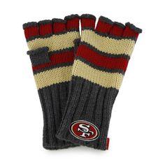 San Francisco 49ers Women's '47 Brand Highland Fingerless Glove $25