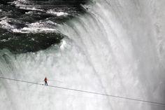 Daredevil Nik Wallenda 'on cloud nine' after making 1st tightrope walk across Niagara Falls - The Washington Post