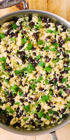 Weight Loss Plans For Teenagers Cilantro-Lime Black Bean Rice.Weight Loss Plans For Teenagers Cilantro-Lime Black Bean Rice Mexican Food Recipes, Vegetarian Recipes, Cooking Recipes, Healthy Recipes, Smoker Recipes, Cooking Tips, Side Dishes Easy, Side Dish Recipes, Rib Recipes