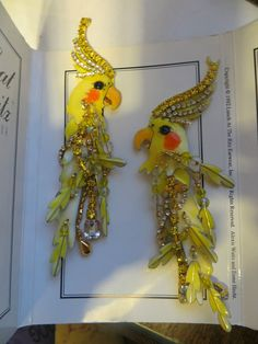 Lunch at the Ritz Coutere Earrings Clip ons Couturekateel Wow! #LunchAtTheRitz