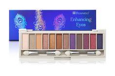 LA CARÈNE: bh cosmetics enhancing eyes palette - bright blue ...