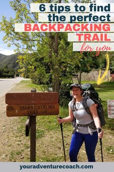 Choosing the best backpacking trail that will set you up for success can sometimes be tricky. Not knowing where to actually go backpacking can also, unfortunately, be a big factor that holds hikers back and keeps them inside instead of out adventuring! Keep reading for my favorite ways to pick out your next backpacking trail. Backpacking Trails, Success, Author, Adventure, My Favorite Things, Learning, Big, Studying, Teaching