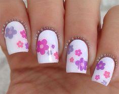 nails.quenalbertini: Spring Flower Nail Art Designs 2016