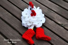 ROOSTER Crochet Easter egg decorations, cozy Chicken egg warmers, egg cover ,crochet egg covers ,egg cozy chickens, hat chicken !