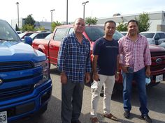 2 Brothers Picking up 2 #2020 #F150 #Lariat #Sport in #VelocityBlue and #RapidRed for their business Net Freight Systems They got Ontario's best #F150 #Deal for their company from #SamThapa , Sr Product Specialist at #East #Court #Ford #Lincoln Are you looking to lease a truck under your company name? Call sam to get a similar deal! #BestDeals #BestDealer #Oldestdealer #VolumeDealer #CustomerFavourite Call Sam, 2 Brothers, Name Calling, Company Names, Driving Test, Lincoln, Ontario, Truck, Ford