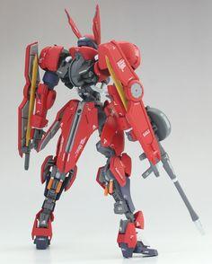 GUNDAM GUY: HG 1/144 Grimgerde - Customized Build