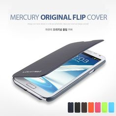Mercury Original Flip Cover Case for iPhone 5, Galaxy S3 III and Galaxy Note 2 II at U$10.98