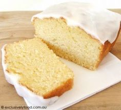This vegan lemon cake is light and fluffy with a zing! Also works well by replac… This vegan lemon cake is light and fluffy with a zing! Also works well by replacing the flour and baking powder for gluten free substitutes Vegan Treats, Vegan Foods, Vegan Dishes, Vegan Desserts, Vegan Baking Recipes, Eggless Recipes, Dairy Free Baking, Eggless Baking, Healthy Cake Recipes