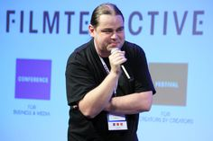 """Maciej Budzich - the host of discussion panel """"Videoblogging as a alternative to traditional video distribution"""""""