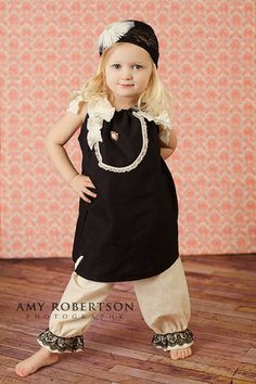 My Whimsy Girl Vintage Inspired  Black 1920 Dress by mywhimsygirl, $39.00