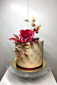 Autumn cake by Frufi