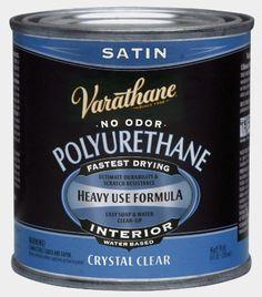 Rustoleum Varathane 200261h 12pint Interior Crystal Clear Waterbased Polyurethane Waterbased Satin Finish Countertop Makeover Varathane Painting Ceramic Tiles