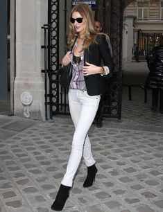 Rosie Huntington-Whiteley's style file
