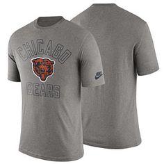 Get this Chicago Bears Retro Logo Tri-Blend T-Shirt at ChicagoTeamStore.com