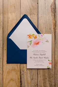 MARINA Suite Rustic Package, watercolor flowers, watercolor wedding invitation, calligraphy, flowers, blush, twine