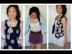 Thrift Store Haul + DIY Fashion RE-do