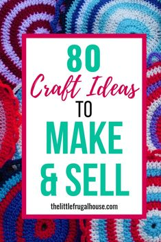 Oct 26, 2019 - Want to make extra money selling crafts? Check out these 80 unique DIY craft ideas to make and sell to find easy and popular things you can make from home! Easy Crafts To Sell, Diy Projects To Sell, Fun Crafts, Sewing Projects, Crafts For Kids, Craft Projects, Arts And Crafts, Craft Ideas, Quick Crafts
