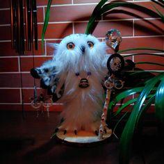Anna Magic Owl Flower (@magic.owl) в Instagram: «Полярный филин, Добрый и Светлый Маг по имени ШАНТА. Шанта - древнее индийское имя и несёт в себе…»